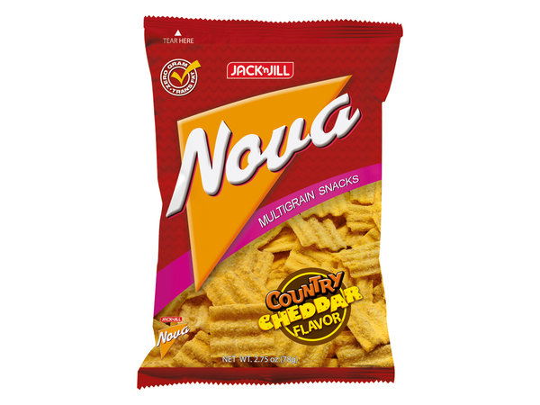 Nova Country Cheddar Mehrkorn-Crackers 78g