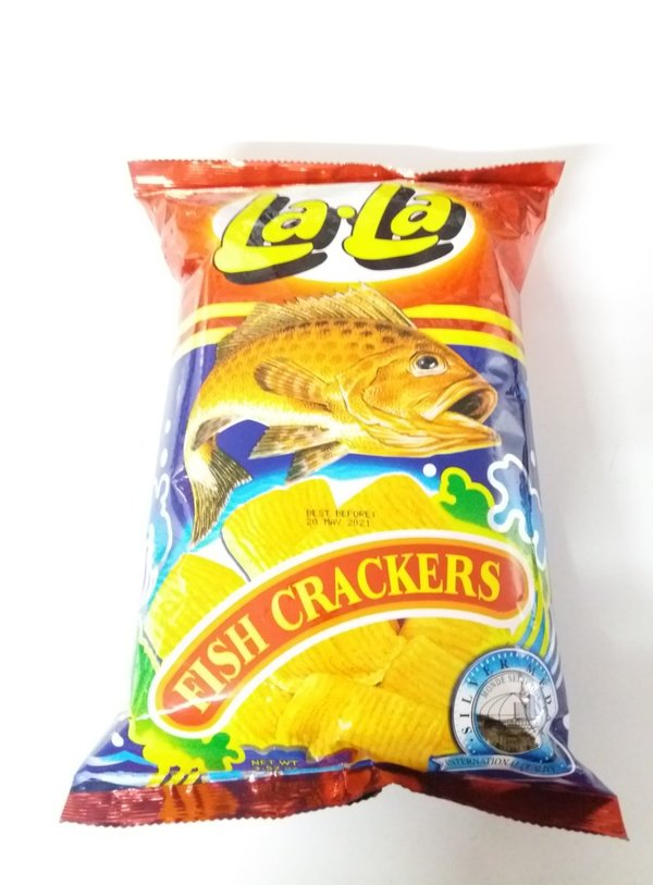 La La Fish Crackers 100g