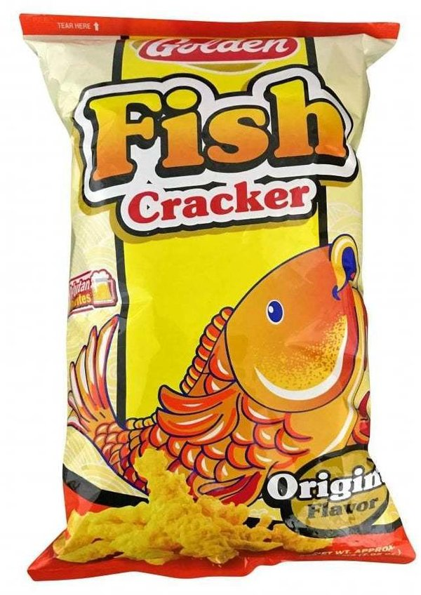 Golden Fish Cracker 200g